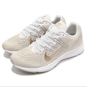 Nike Zoom Winflo 5 Phantom Gold Sneakers